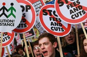 University Applications Drop in the First Year of Tripling Tuition Fees