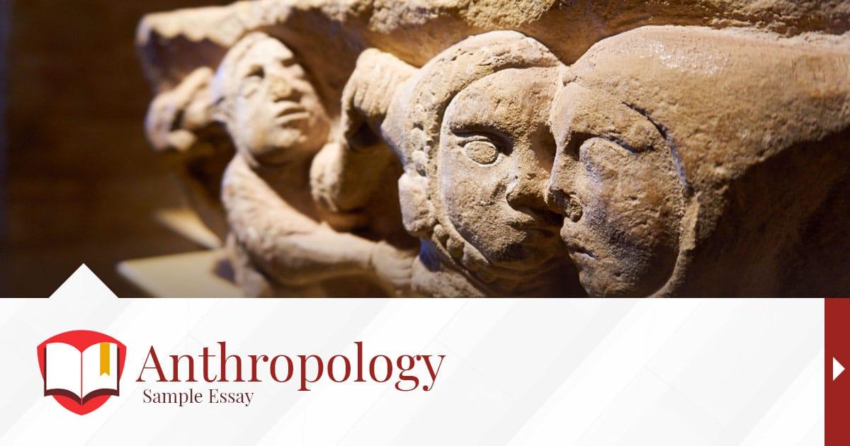 Anthropology essay writer